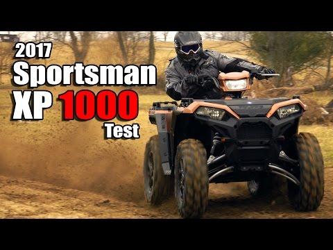2017 Polaris Sportsman XP 1000 Test Review