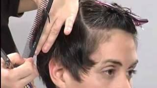 Короткая женская стрижка и окрашивание от Tahe Origami   YouTube