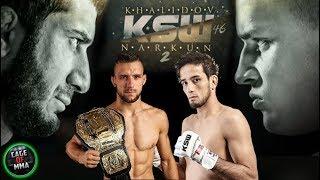 KSW 46 - Khalidov vs Narkun , Gamrot vs Koike Erbst