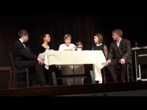 South Christian High School Playbill - The Dearly Departed