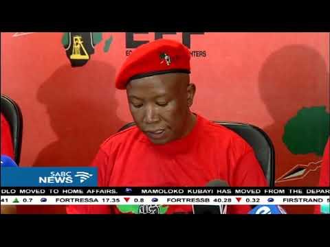 EFF welcomes removal of Blade Nzimande