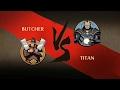 Shadow Fight 2 BUTCHER VS TITAN