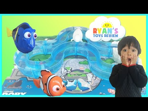 Disney Pixar Finding Dory Water Toys Marine Life Institute Playset