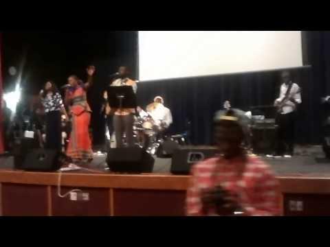 Pastor Athoms et Nadeige Cincinnati Ohio concert