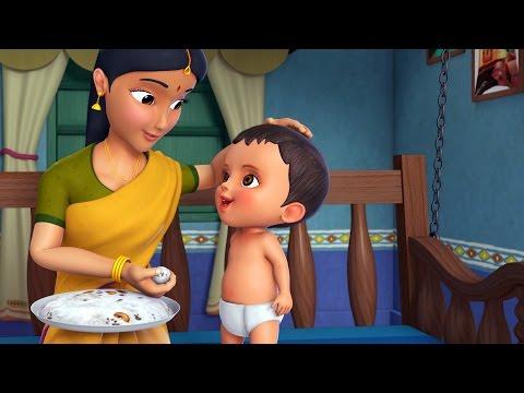 செல்லம் சாப்பிடுமாம் | Tamil Rhymes for Children | Infobells