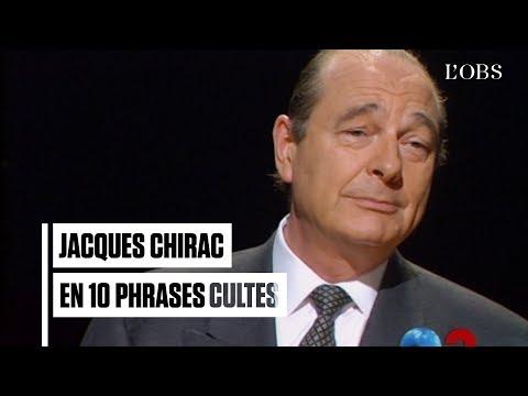 Jacques Chirac est mort : ses 10 phrases cultes