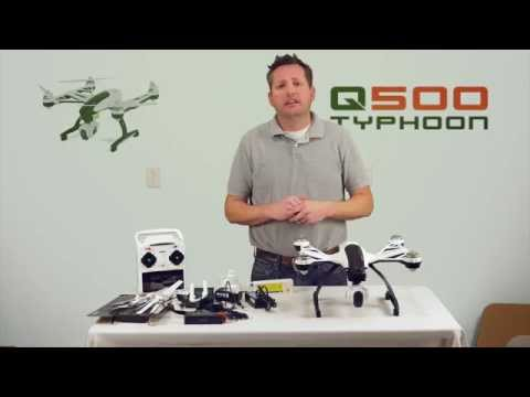 YUNEEC Q500 Typhoon RTF with CGO2-GB Camera Unboxing and Review