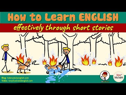 How To Learn English Effectively Through Short Stories (Improve 4 Skills)