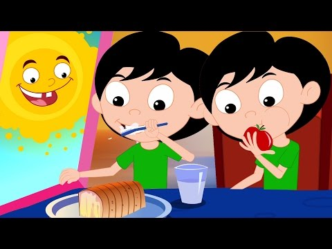 Tägliches routinemäßiges Lied | Baby Lieder | Kinder Musik | Songs For Children | Daily Routine
