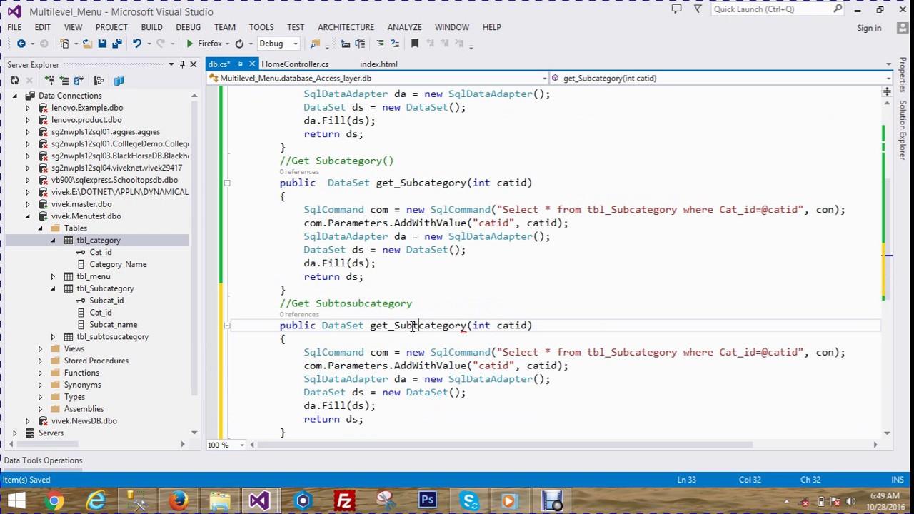 Database driven dynamic menu control codeproject.