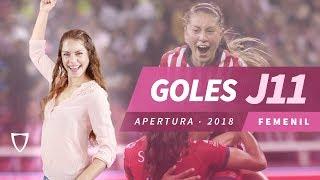 Todos los Goles Liga MX FEMENIL JORNADA 11 2018 - GOLAZO ARLETTE TOVAR