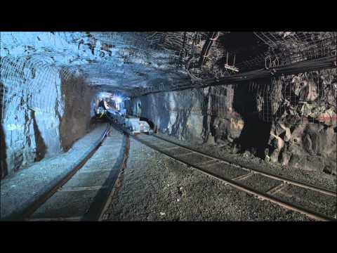 Bulk Material Handling, Rail Veyor at Vale Underground Mine,Sudbury
