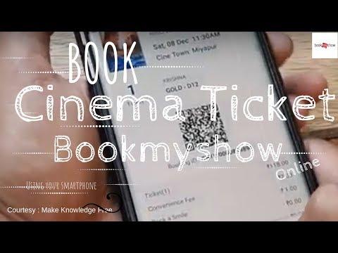 HOW TO BOOK MOVIE TICKETS ONLINE USING BOOKMYSHOW   ऑनलाइन सिनेमा टिकट कैसे बुक करें   BOOKMYSHOW