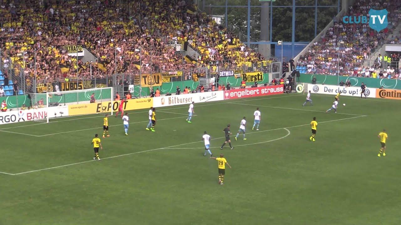 Chemnitzer Fc Borussia Dortmund Dfb Pokal 2015 2016 Youtube