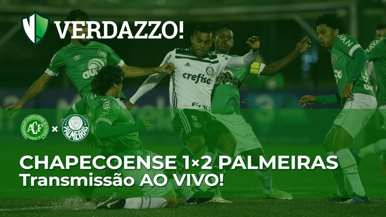 Chapecoense x Palmeiras - Brasileirão 2018 - TRANSMISSÃOAO VIVO ... 45c6452e657f4