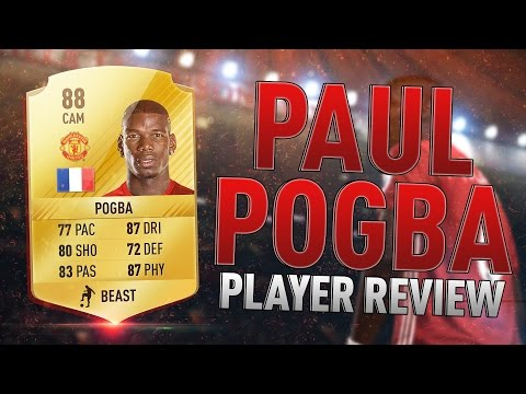 FIFA 17 - Pogba (88) Player Review! Ft Squad, In-Game Stats & Gameplay! #POGBACK