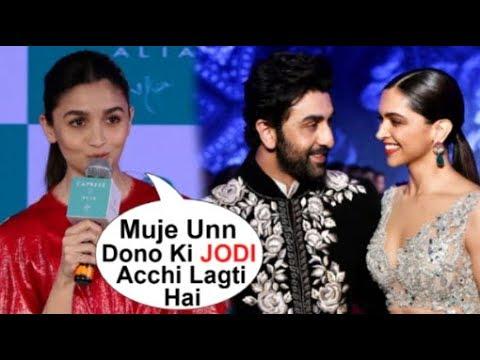Alia Bhatt PRAISES Ranbir Kapoor's Ex Girlfriend Deepika Padukone At Gully Boy Movie Promotions Mp3