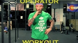 How To Workout Like An Operator thumbnail