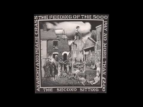 """Crass - The Feeding Of The Five Thousand (The Second Sitting) full 12"""" EP"""