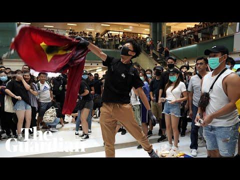 Hong Kong police and demonstrators clash as tensions escalate