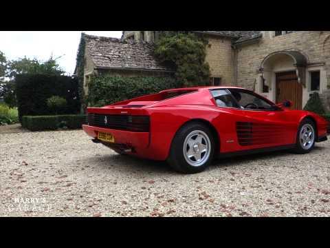 Ferrari Testarossa drive and review