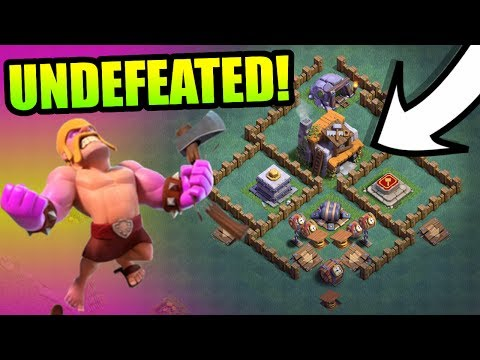 Thumbnail: UNDEFEATED BUILDERS HALL 5 BASE!! CAN ANYONE DEFEAT IT!? - Clash Of Clans