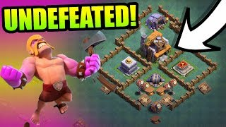UNDEFEATED BUILDERS HALL 5 BASE!! CAN ANYONE DEFEAT IT!? - Clash Of Clans