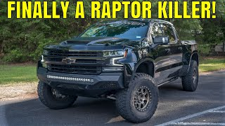 homepage tile video photo for 6.2L Silverado LTZ Turned Into Off-Road Baja MONSTER - PaxPower Jackal
