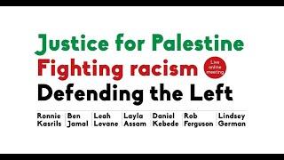 Lindsey German Speaking at Justice for Palestine