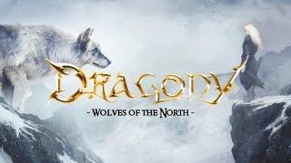 Dragony - Wolves of the North LYRIC VIDEO Sub Español