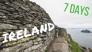 IRELAND - A Southern Roadtrip in 7 Days - Skellig Michael, Ring of Kerry, Cliffs of Moher, Galway