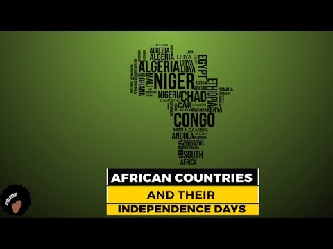African Countries And Their Independence Days
