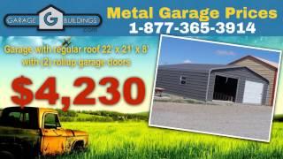 Andrews Metal Garage Kits | Garagebuildings.com