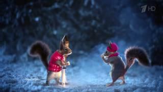 Новогодние заставки (Первый канал, зима 2016)