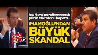 Ekrem İmamoğlu'ndan büyük skandal! Mikrofonu kapattı