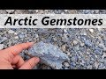 Lapis lazuli and HUGE spinel crystals in the ARCTIC