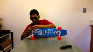 Erinn Cruiser Skateboard Unboxing