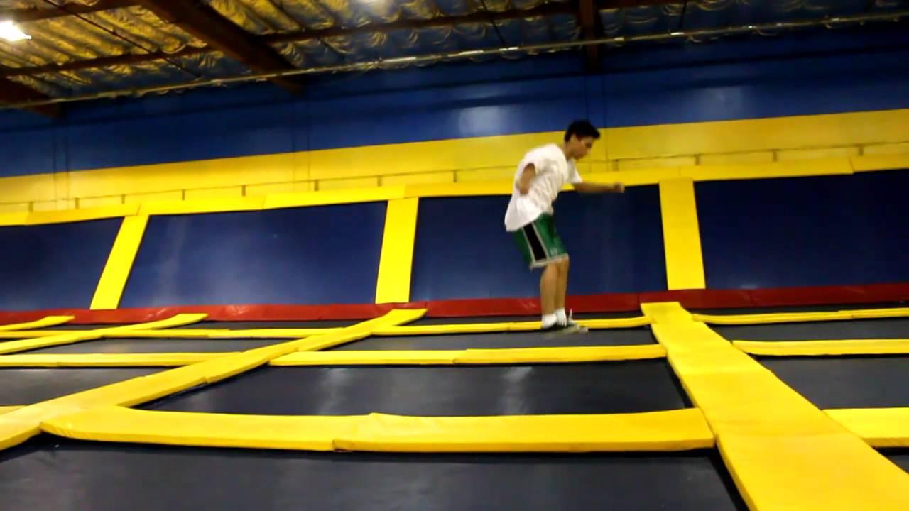 having fun at sky high sports  santa clara  ca