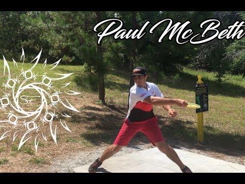 Paul McBeth 2017 PDGA Disc Golf World Championships PRACTICE round @ Fort Gordon