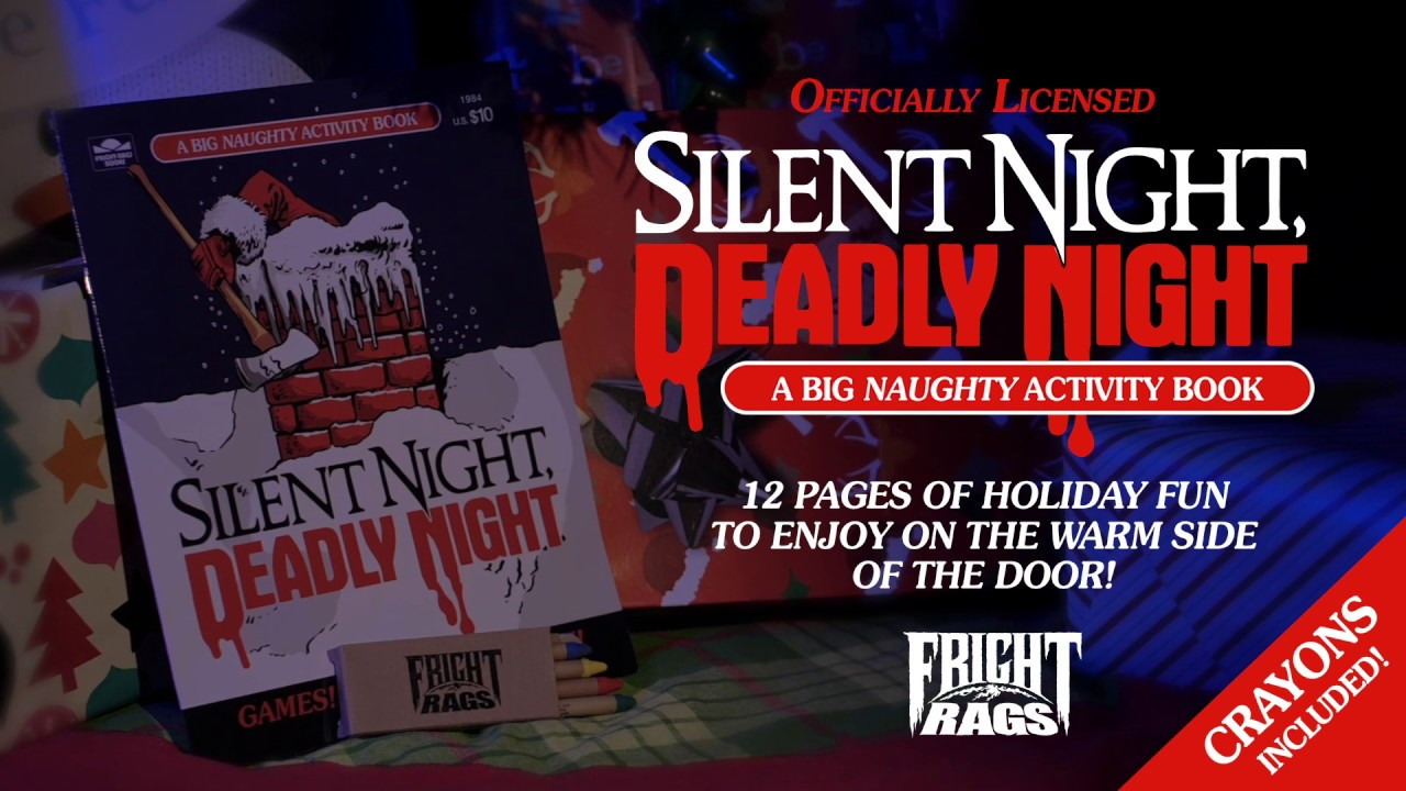 Officially Licensed SILENT NIGHT DEADLY NIGHT Activity Book!