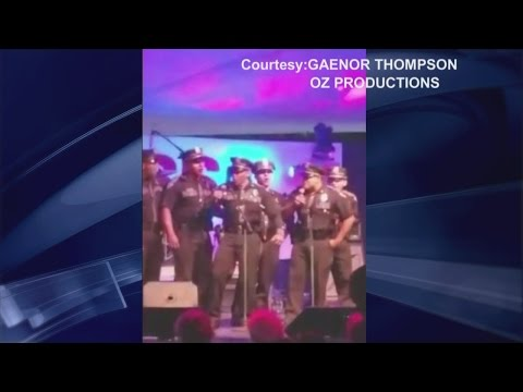 State Police take the stage for State Fair Karaoke Night