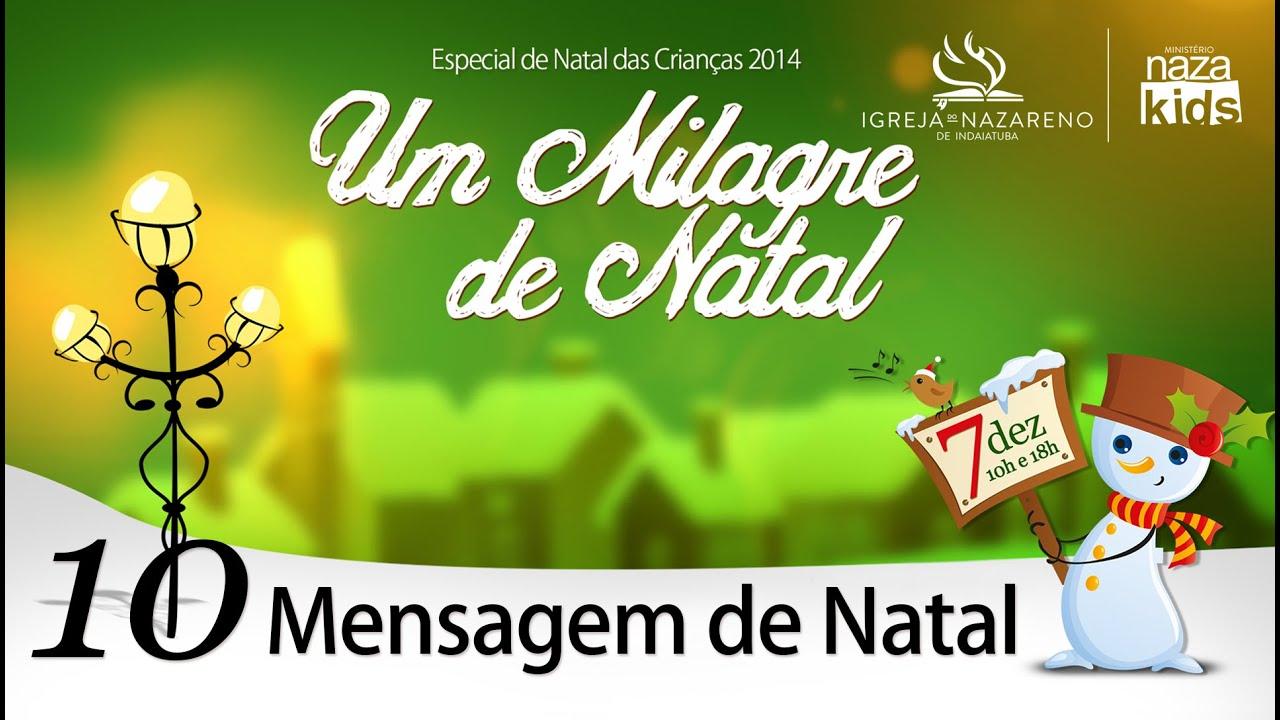 Musicas De Natal: Cantata Milagre De Natal 2014
