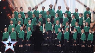 St. Patrick's Junior Choir Drumgreenagh roar onto BGT | Semi-Final 1 | Britain's Got Talent 2017