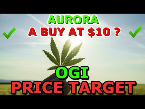 Is Aurora Stock A Buy At $10 ? New OGI Price Target - Canopy & martha stewart- Stock News 2019 - ACB