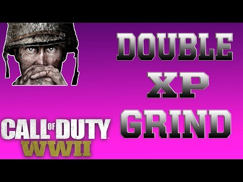 Call Of Duty WW2: DOUBLE XP GRIND!!!! W/ SUPPLY DROP OPENINGS!!!!