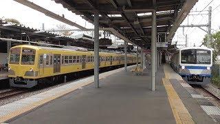 西武多摩湖線 新101系 黄色(ツートン) 伊豆箱根色 白