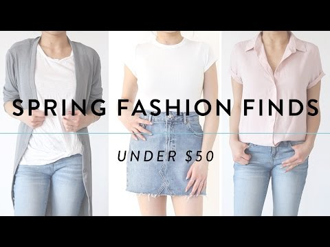 SPRING FASHION FINDS Under $50 | Affordable Try On Fashion Haul | Miss Louie