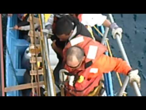 (Overseas Shipholding Group) OSG MT OVerseas Goldmar California-Mexico Rescue Operation