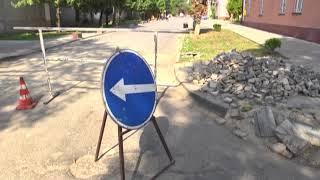 Бульвар Лесі Українки в Коломиї ремонтують