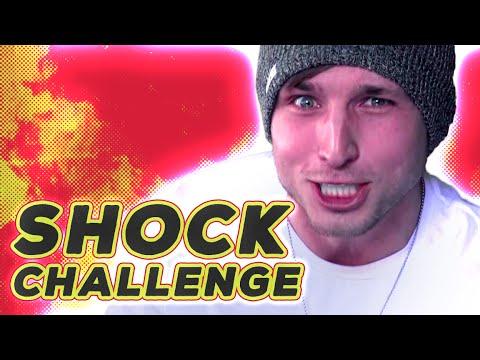 TWITTER SHOCK CHALLENGE (Squad Vlogs)